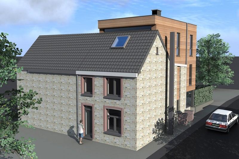 Mod lisation 3d maison passive battice en r gion for Modelisation maison 3d
