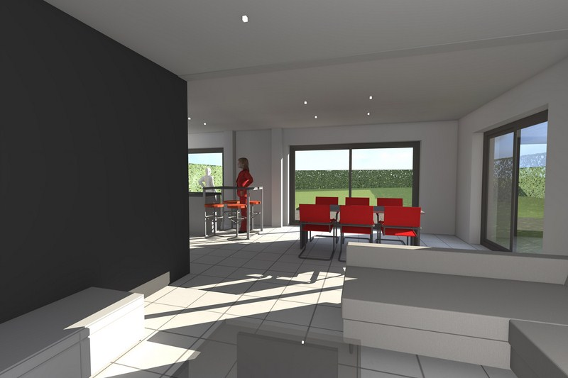 mod lisation 3d maison passive battice en r gion li geoise vincent joris. Black Bedroom Furniture Sets. Home Design Ideas