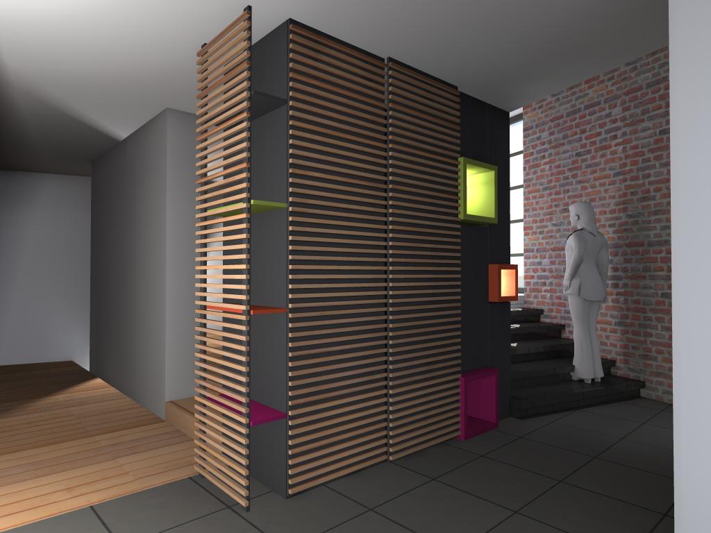 Mod lisation 3d maison passive battice en r gion for 3d modelisation